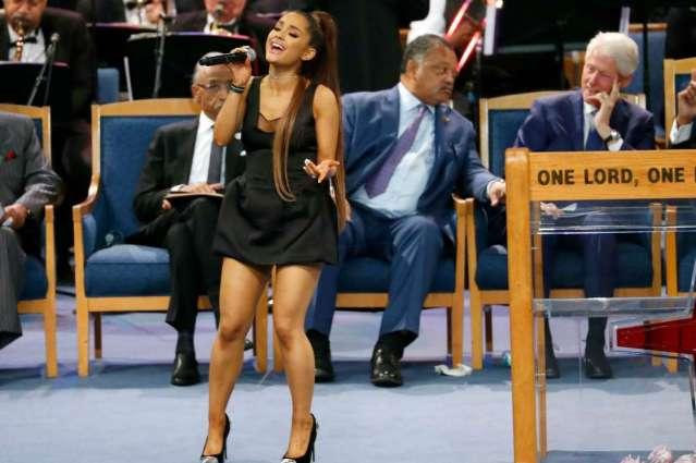 Ariana's funeral attire